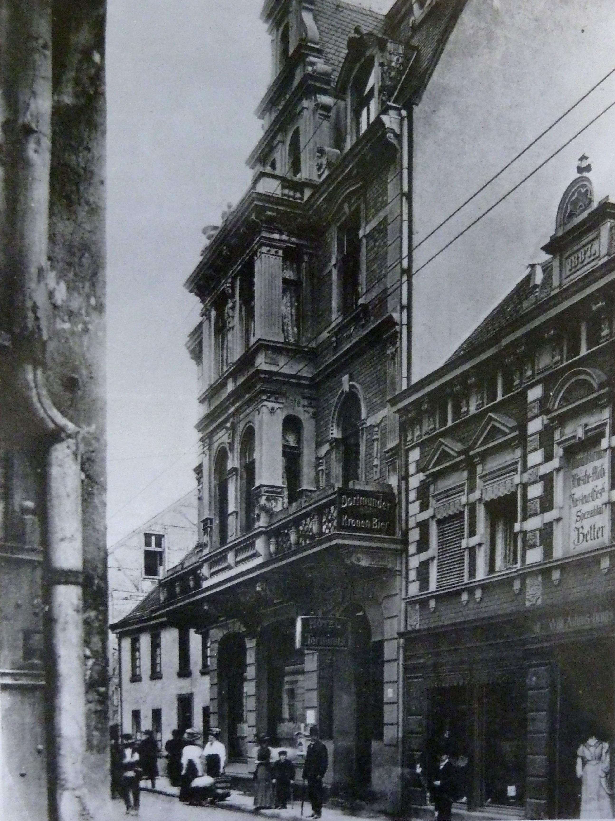 Hotel Terminus, circa 1910