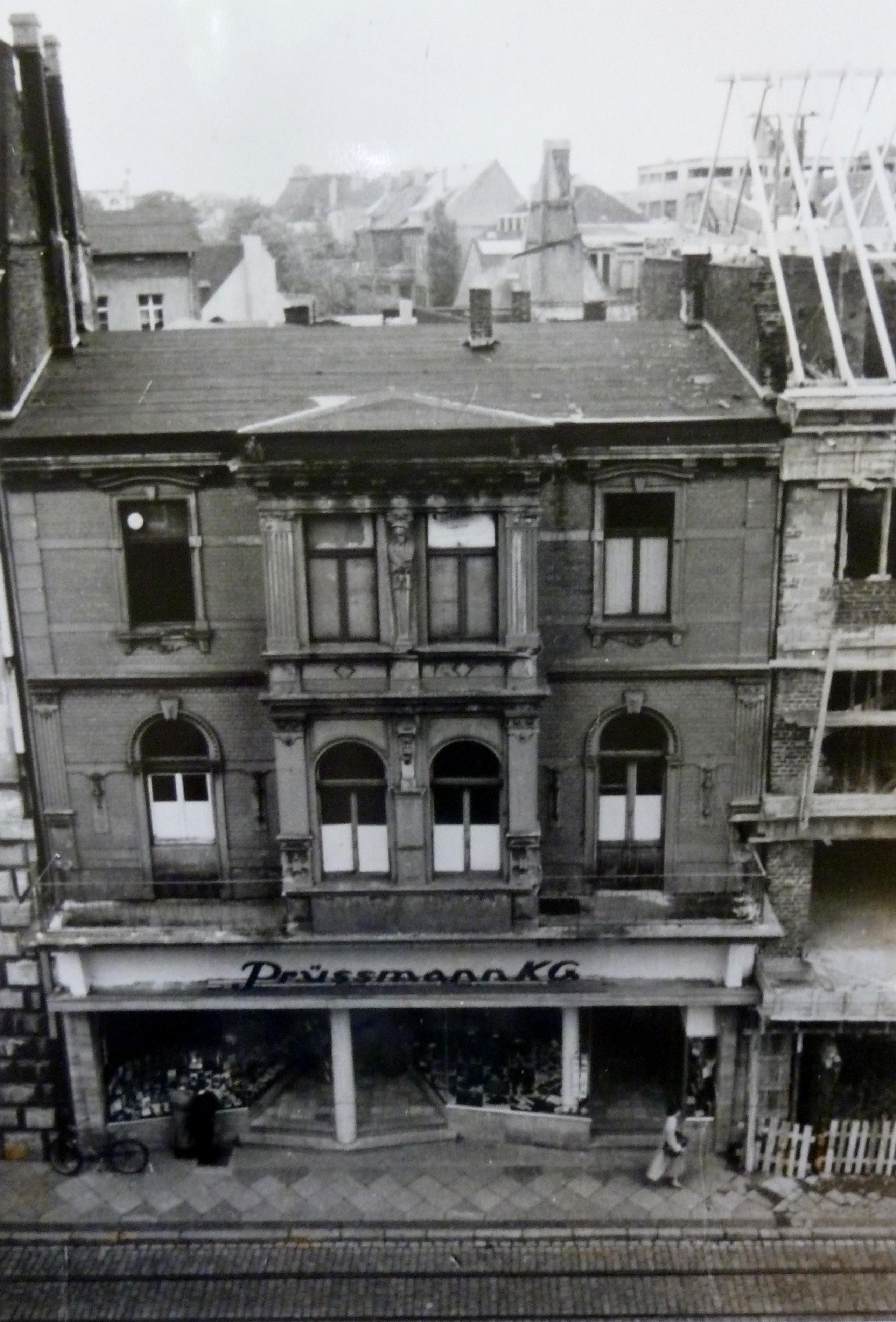 Das Prüßmann-Kaufhaus in den 1960ger Jahren