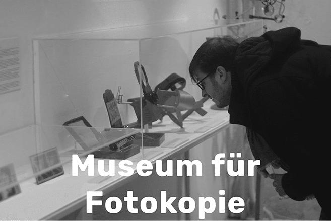 museum für fotokopie
